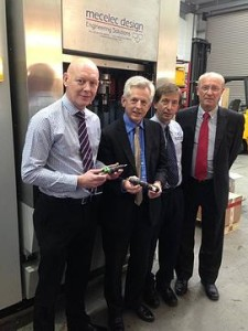 MP Richard Graham visits Mecelec Design Ltd