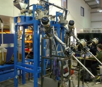 Propellant measuring machine